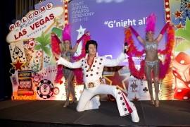 Mike Memphis as Elvis image