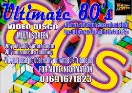 ULTIMATE 80's VIDEO DISCO - Party DJ - Shropshire, West Midlands