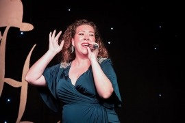 Joanne Jollie - Comedy Singer - Enfield Lock, London