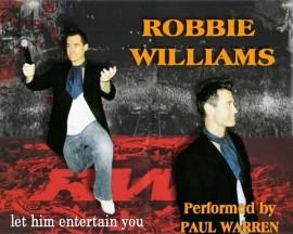 Paul 'Robbie' Warren. - Robbie Williams Tribute Act - Lincoln, East Midlands