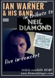 ian  - Neil Diamond Tribute Act - East Anglia, East of England