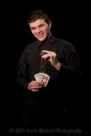 Brandon Remey a.k.a Time-Stopper - Close-up Magician - New York