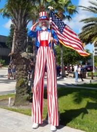 Mike Weakley - Stilt Walker - Orlando, Florida