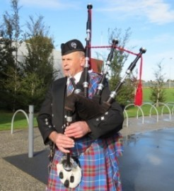 The Bagpiper image