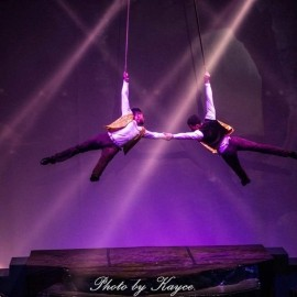 Duo strap act. Duo arial pole act. Cyr whell act. Cube act. Solo straps act - Aerialist / Acrobat - Addis Ababa/ Ethiopia, Ethiopia