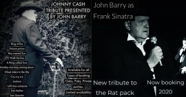 John Barry - Frank Sinatra Tribute - Johnny Cash Tribute Act - Wisbech, East of England