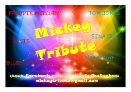 Mickey Tribute Comedy Tribute Show - Rock & Roll Band - Dudley, West Midlands
