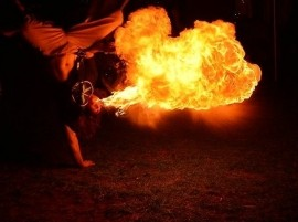 Jeremiah Jacobs - Fire Performer - Grand Rapids, Michigan
