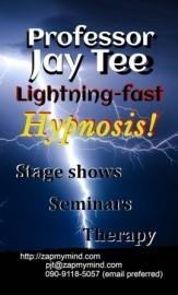 Professor Jay Tee - Hypnotist - Kobe, Japan