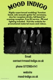 Mood Indigo - Function / Party Band - Nottinghamshire, East Midlands