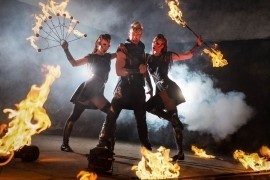Aliatrix - visual show agency  - Fire Performer - Prague, Czech Republic