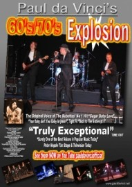 The Paul da Vinci Explosion 60's/70's - Tribute Act Group - Somerset, South West