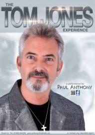 PAUL ANTHONY - Tom Jones Tribute Act - Rotherham, North of England
