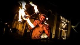 NarOmar - Fire Performer - jerusalem, Palestinian Territory
