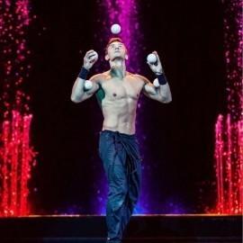 Dmitry - Juggler - Spain/Malaga, Spain