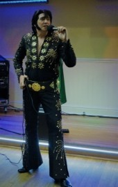 James Burrell as Elvis Presley - Elvis Tribute Act - Exeter, South West