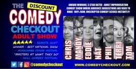 THE DISCOUNT COMEDY CHECKOUT - Other Comedy Act - Leeds, Yorkshire and the Humber