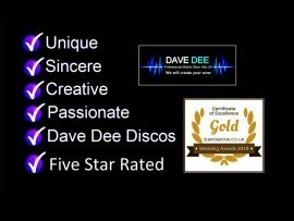 Dave Dee Professional Mobile DJ / Disco Hire - Wedding DJ - Stafford, Midlands