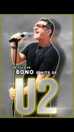 Joe Tilly wedding singer & Michael  tribute  And a  tribute to bono the U2  experience    image
