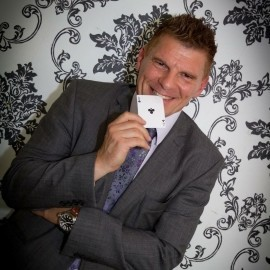 Glenn Ward - Close-up Magician - Tyne & Wear, North East England