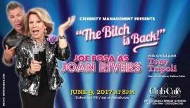 Perfoms as Joan Rivers image