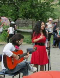 Los Reyes - Duo - Yerevan Armenia, Armenia