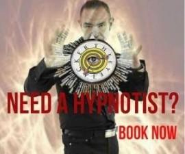 Terry James - The EyeJacker - Hypnotist - Lancashire, North West England