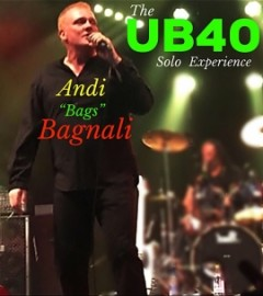 """Andi """"Bags"""" Bagnali UB40 Experience Solo Show - Other Tribute Act - Barnsley, Yorkshire and the Humber"""