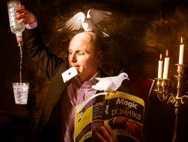 Scoop - Cabaret Magician - Preston, North West England