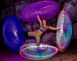 charlotte Ellen Blake  - Hula Hoop Performer - Chester, North of England