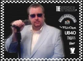 Skatrain 2Tone UB40 reggae Show - Male Singer - Skegness, East Midlands