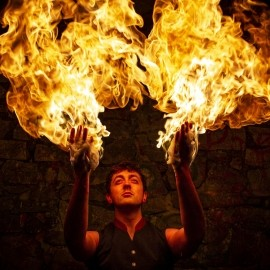 Danny the Fire Performer - Fire Performer - Axbridge, South West