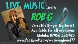 Rob G - Cover Band - Ashford, East of England