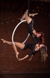 Custom Aerial Hoop Duo Act - Aerialist / Acrobat - Los Angeles, California