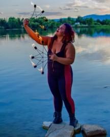 Ana M Cruz  - Fire Performer - Erie, Colorado