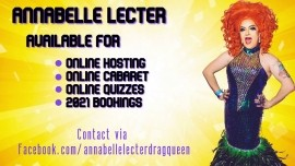 Neil Doyle/Annabelle Lecter - 2021 BOOKINGS NOW AVAILABLE! - Drag Queen Act - Manchester, North West England