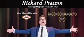 Richard Preston Worlds Greatest Magician Frozen in Time - Comedy Cabaret Magician - Kalamazoo, Michigan