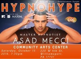 Asad Mecci - Hypnotist - Canada, Ontario