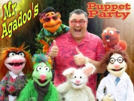 Mr Agadoos Puppet Party - Puppeteer - Leeds, North of England