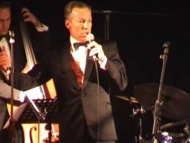 Fred Gardner as Frank sinatra - Frank Sinatra Tribute Act - Yateley, South East