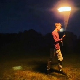 Giovani James - Fire Performer - Tampa, Florida