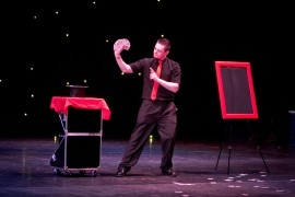 Flash -  Comedy & Magic - Cabaret Magician - Durham, North East England