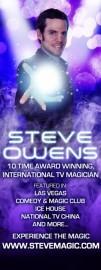 Steve Owens - Cabaret Magician - Los Angeles, California