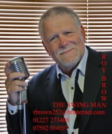 THE SWING MAN - Male Singer - Kent, South East