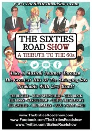 THE SIXTIES ROADSHOW - 60s Tribute Band - Kent, South East