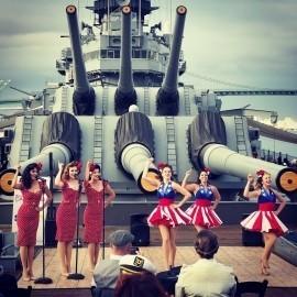 THE SATIN DOLLZ - Veterans Tribute Act - Los Angeles, California