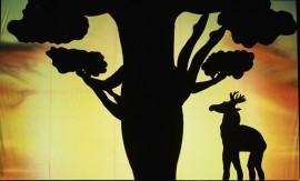 Shadow Theatre  - Hand Shadow Act - Kyiv, Ukraine
