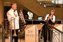 FINE WHINES - VINTAGE JAZZ & SWING image