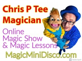 CHRIS P TEE COMEDY MAGICIAN - Comedy Cabaret Magician - Chipping Sodbury, South West
