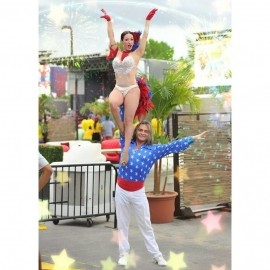 Salsa acrobatic couple Gabriel  & Claudia  - Dance Act - Miami, Florida